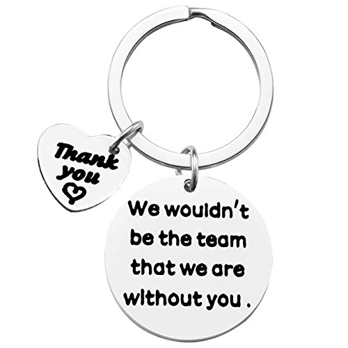Boss Coach Thank You Keyring Team Gift Best Manager Gifts We Wouldn't Be...