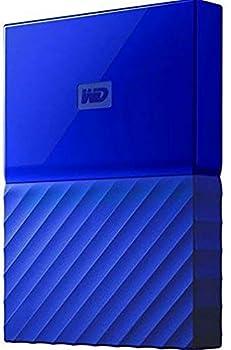 Western Digital 1 TB My Passport Exclusive Edition External Hard Drive - Blue