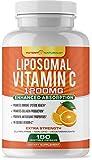 Liposomal Vitamin C 1200mg - 180 Capsules - High Absorption, Fat...