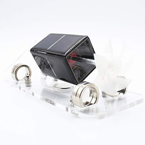 Sunnytech Solar Mendocino Motor Magnetic Levitating Model Small Wind Wheel Educational Teaching Toy ID01