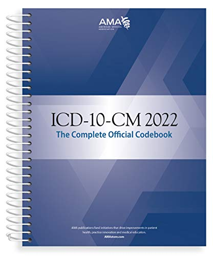 ICD-10-CM 2022 the Complete Official Codebook with Guidelines