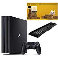 PlayStation 4 Pro ジェット・ブラック 1TB (CUH-7200BB01)【Amazon.co.jp限定】アンサー 縦置きスタンド付...