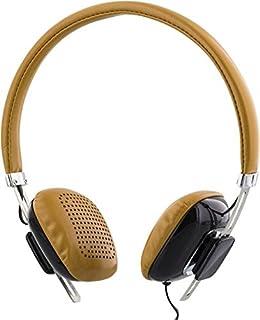 STREETZ 1,3 m kabelhörlurar med mikrofon och svarknapp – brun/svart