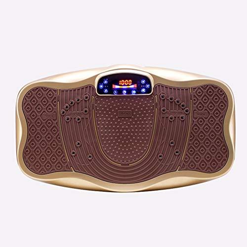 SYCW trilplaat, elektrisch fitnessmassageapparaat, laag geluidsniveau en stil (met afstandsbediening en LCD-display)