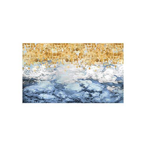HGlSG (No Frame) 40x20cmSonnenbrillen Holzbrücke See Landschaft Poster und Drucke Leinwand Malerei Bilder skandinavischen Wandkunst Bild für Wohnzimmer