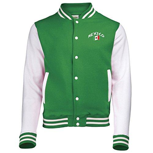 Supportershop Jungen Mexico Jacke XS grün