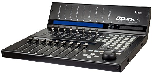 Icon Pro Audio DAW Control Surface, QCon Pro X Main Unit (QCONPROX)