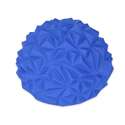 Shipenophy Juguete de Entrenamiento Bola de Masaje eficazmente Puntiaguda Media Bola de Yoga para Deportes para niños(Blue)