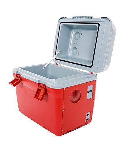 LIANJUN Camping 18L Kapazität Elektrische Kühlbox 12V DC Elektrisch Kühlbox Kühler Extrem Kühlbox Isotherm Haushalt/im Freien
