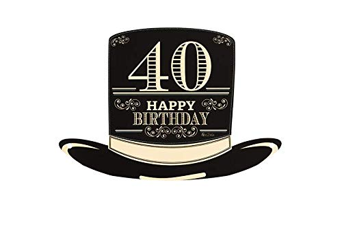 Givi Italia Paquete 4 Sombreros Copa Papel cumpleaños
