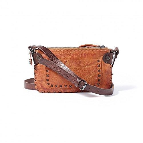 Noosa Handtasche Small Bag Stitches, Noosa_Farbe:cognac