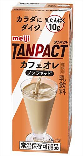 明治TANPACTカフェオレ 200ml ×24本