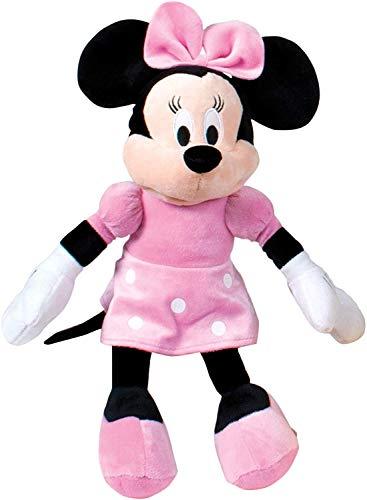 - peluche - Minni Minnie Mouse 70 cm clásico Original Disney, Multicolor, PDP1600047