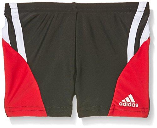 adidas Jungen Badeshorts Performance Boxer-Badehose, Black/Ray Red, 176