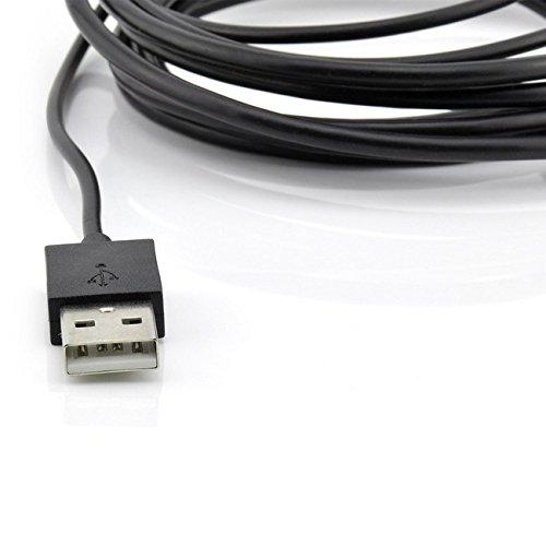 Saxonia MHL zu HDMI Adapterkabel kompatibel mit Samsung Galaxy Smartphones, Tablets (MicroUSB 5/11 polig) Full HD Bild + Tonübertragung, Schwarz *Bitte Beschreibung beachten - Nur für MHL kompatible Geräte*