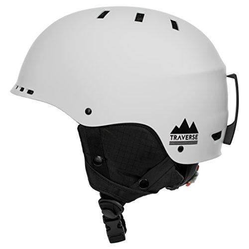Traverse Sports 2-in-1 Convertible Ski & Snowboard/Bike & Skate Helmet