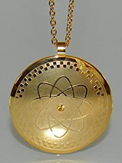 Power Energy Scalar Quantum Bio Science Negative Ions Pendant Necklace Electromagnetic Field Protection (GDE-2301)- FREE Teardrop Necklace Value 9 Dollars