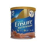 ensure nutrivigor forza e difese integratore in polvere con vitamine e minerali | confezione da 400gr | gusto cioccolato