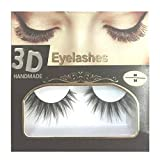 BELLA HARARO Black Handmade Natural 3D Thick Long False Eyelashes