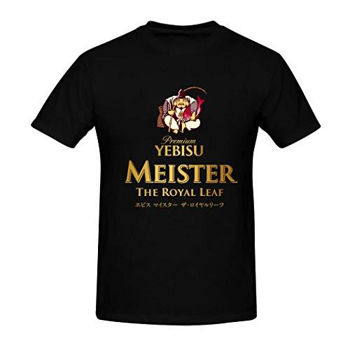 メンズ Tシャツ ヱビスビール 半袖 コットン 原宿系 ラウンドネック 男女兼用 トップス