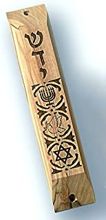 mezuzah case with scroll