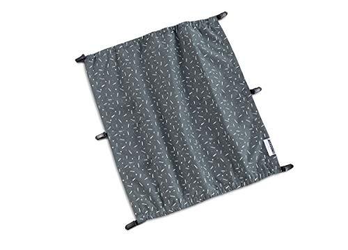 Croozer Sonnenschutz für Kid Vaaya 2 Graphite Blue/White 2020 Fahrradanhänger
