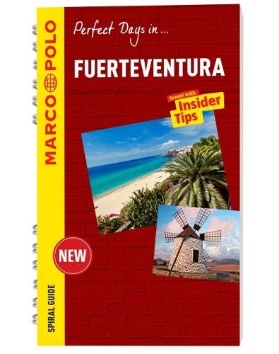 Fuerteventura Marco Polo Travel Guide - with pull out map (Marco Polo Spiral Travel Guides) [Idioma Inglés]