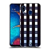 Head Case Designs Ombre Plaid Flannel Fridays Soft Gel Case Compatible for Samsung Galaxy A20 / A30 (2019)