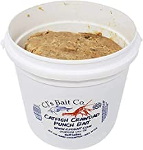 CJ's Catfish Punch Bait, Cat Fish Fishing Attractant, Crawdad, Wild Hopper, Minnow, Shad, Monster Strong Scents (Half Gallon, Minnow)