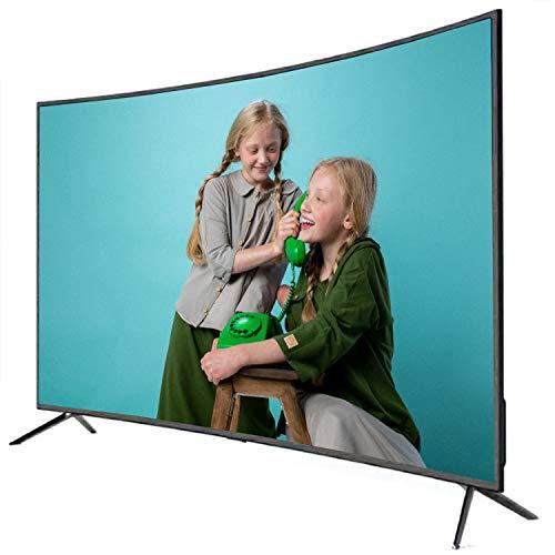 GXFCH SHOP 4K LCD TV Explosión a Prueba de explosiones 42 Pulgadas Curved Screen LED TV Red Inteligente, proyección de Pantalla de Tableta