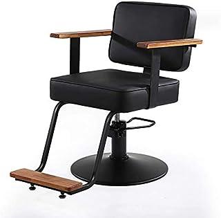 Shengluu Sillas De Escritorio Silla de peluquería altura ajustable Silla de oficina giratoria de escritorio silla sillas silla de la computadora moderna peluquería silla de peluquero Ascensor Negro 20