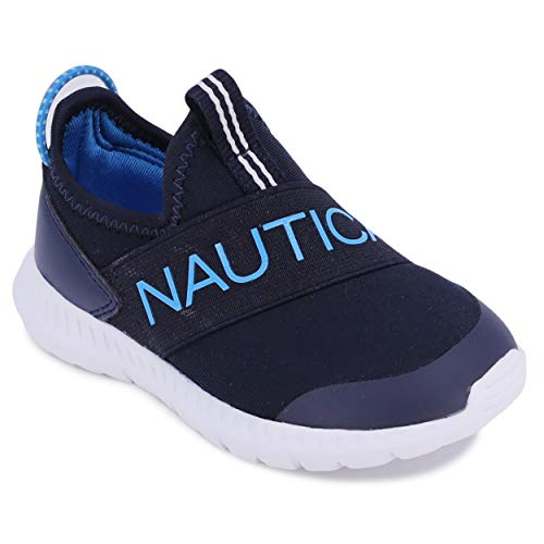 firelli Boys Girls Athletic Running Shoes Breathable Tennis Casual Sneaker for Toddler/Little Kid-Navy 12