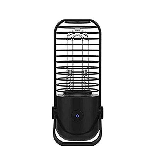 G&UWEI UVC UV-Lampe Keimtötendes Licht, Luftreiniger, Für Heim Tragbarer Wasseraufbereiter, Für Hotel Haushalt Garderobe Toilette Autoaufenthaltsbereich,Schwarz