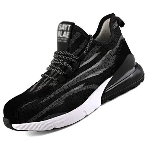 Zapatos De Seguridad Dedo Del Pie For Hombre De Seguridad De Acero Cap Trabajo Zapatillas De...