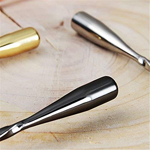 (BlackMixingSpoon)-CocktailMixingSpoonsBlackPlatedwithTearDropTwistedHandle,30cm