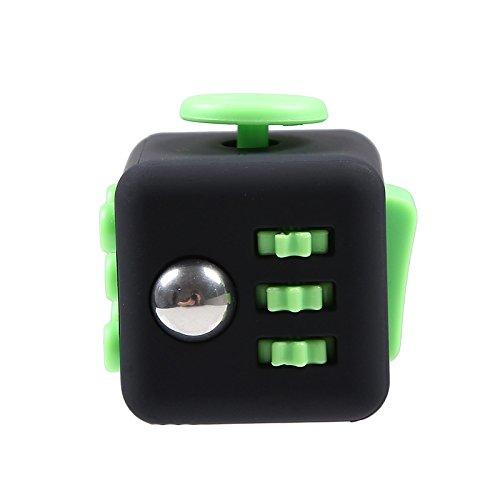 KANGLE Juguete Cubo mágico con Haga Clic en la Bola,Anti-ansiedad Anti-Stress Fidget Toys para niños,Adolescentes y Adultos Stress Reliever