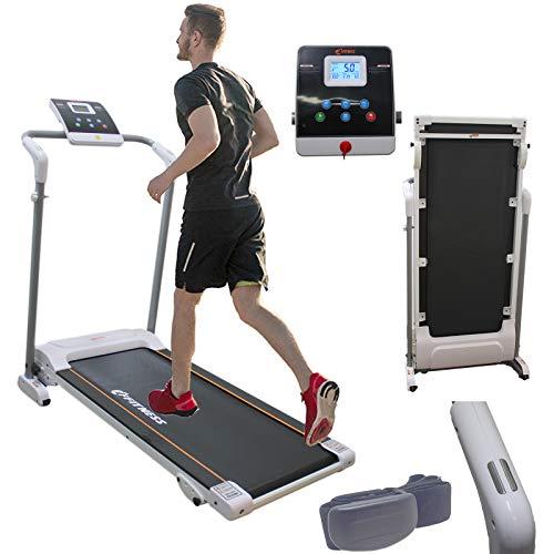 Fitness Tapis Roulant 12 kmh 1.25 HP. Tappeto FLTP3335 Professionale Multifunzione Camminatore Salvaspazio Richiudibile Elettrico Cardiofrequenzimentro Fascia Cardio Display Programmi