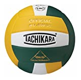Tachikara Composite Volleyball - Sensi-Tec SV-5WSC, Colored Color: Cardinal/White