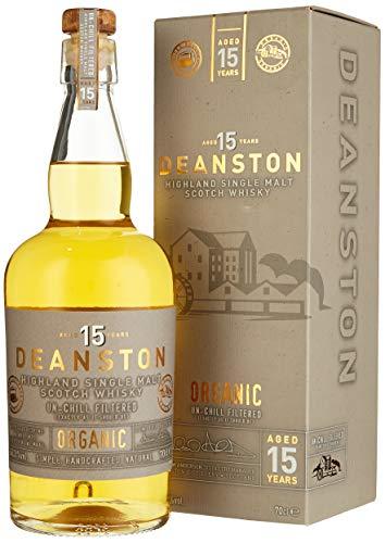 Deanston 15 Jahre - Organic in Geschenkverpackung - Single Malt Whisky (1 x 0.7 l)