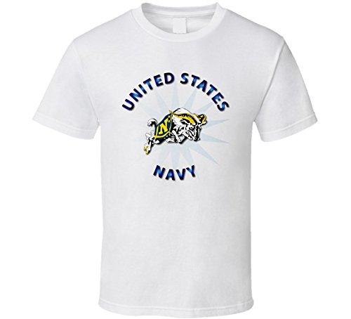 LARGE - US Navy - Mascot - White