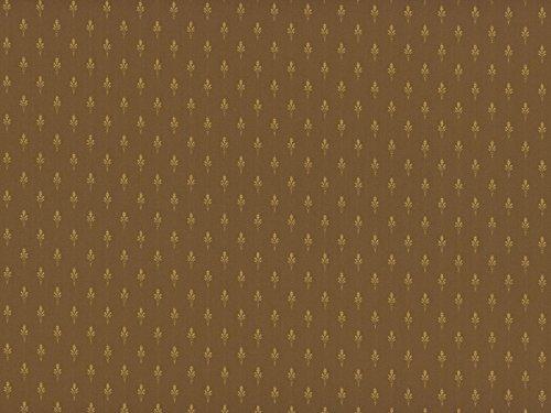 Classic Möbelstoff Cheverny mit Fleckschutz Farbe chocolat (braun, schokobraun, hellbraun, goldgelb) - Flachgewebe klassisch (Lilie, Uni, Ornament), Polsterstoff, Stoff, Bezugsstoff, Eckbank, Couch, Sessel, Hussen, Kissen