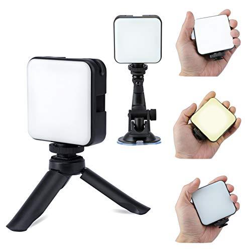 Beleuchtung Videokonferenz Kit, Videokonferenz Licht, Kamera Licht, 2500K-6500K Led Licht Laptop 6w CRI 90+ für Fernarbeit, Fernunterricht, Selbstübertragung, Zoom-Anrufbeleuchtung und Live-Streaming
