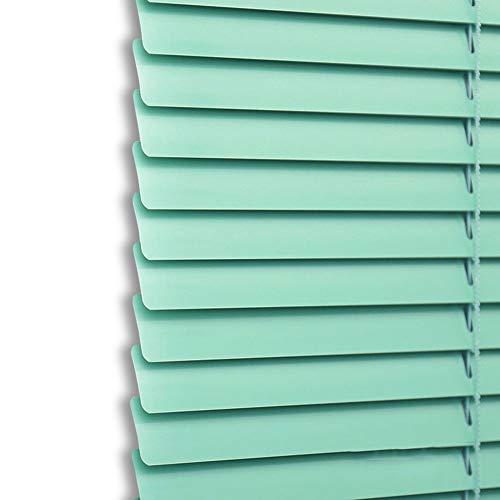 Persiana de Aluminio Persianas Venecianas de Metal de Aluminio, Listón de Fácil Ajuste de 25 mm para Oficina en Casa para Sujeción, Privacidad, Protección contra La Luz Y El Deslumbramiento
