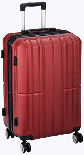 [アイダディ] 【idadi】軽量キャリーケース スーツケース M-7035 保証付 60L 60 cm 3.7kg M7035M-31 ワイン