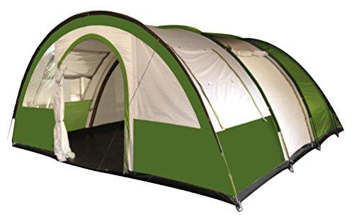 Freetime-Tentes Camping - Galaxy 4 - Tente familiale 4 Personnes - Tente Tunnel