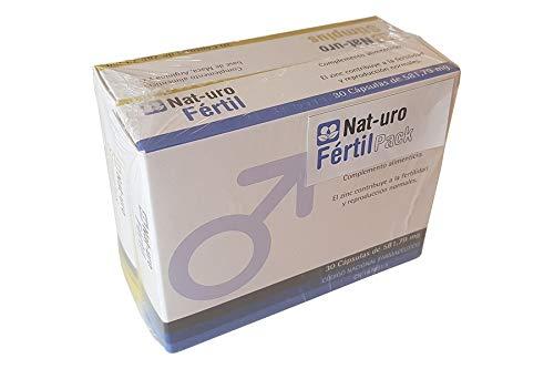 Nat-uro Fértil Pack | Pack natural para la fertilidad masculina y reproducción...