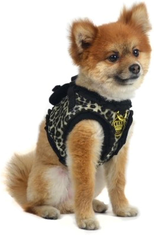 Cani di Glamour Giroly Leopard Harness, Grande