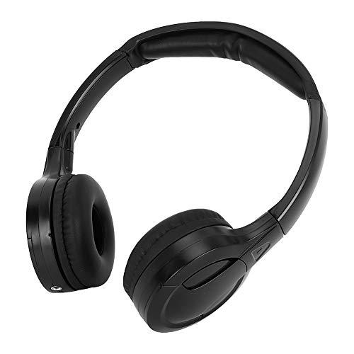 Cuffie infrarossi auto auricolare audio stereo stereo a infrarossi wireless a 2 canali per poggiatesta per auto