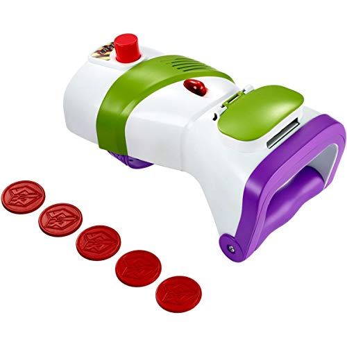 Disney Pixar Toy Story Buzz Lightyear Rapid Disc Blaster
