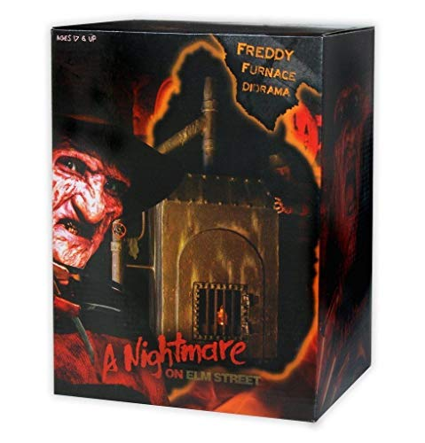 Nightmare on Elm Street Diorama Freddy's Furnace 23 cm